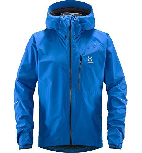Haglöfs Regenjacke Herren Winterjacke L.I.M Wasserdicht, Winddicht, Atmungsaktiv, Kleines Packmaß Storm Blue XL XL