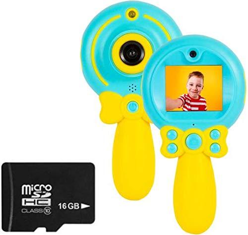 Kindercamera Fototoestel Lollipop Roze Inclusief 16GB Micro SD Kaart (Roze)