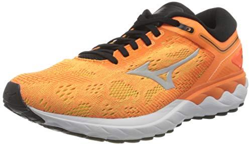 Mizuno Wave SKYRISE, Chaussures de Running Homme, Orange (Shocking Orange Nimbus Cloud Black), 46 EU