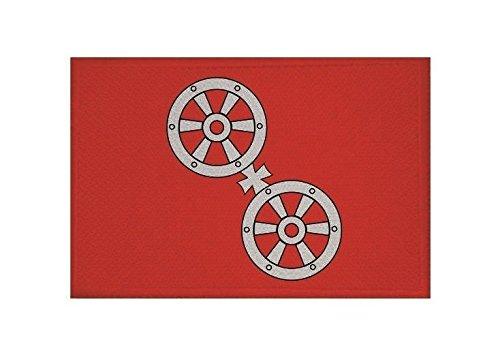 U24 Aufnäher Mainz Fahne Flagge Aufbügler Patch 9 x 6 cm