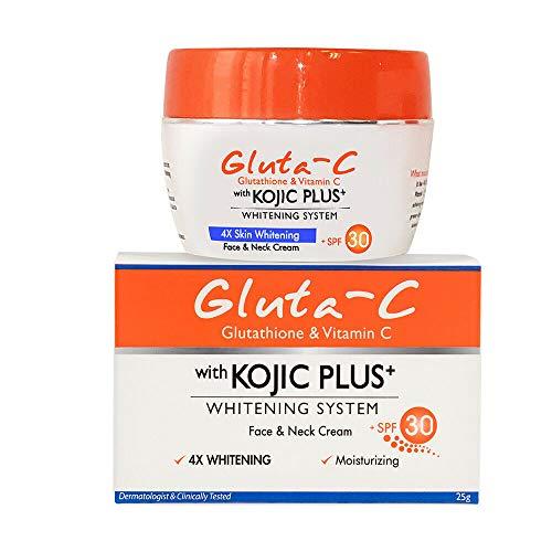 Gluta-C Glutathione Vitamin C Kojic Plus Whitening System SPF30