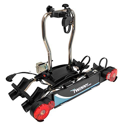 Twinny Load TL 627913056 Twinnyload Fahrradträger e-Carrier II (Swing-Kupplung) ->59kg, Black