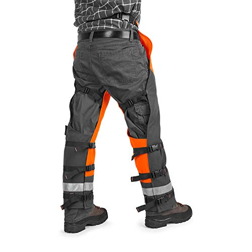 Product Image 5: Husqvarna 587160704 Technical Apron Wrap Chap, 36 to 38-Inch