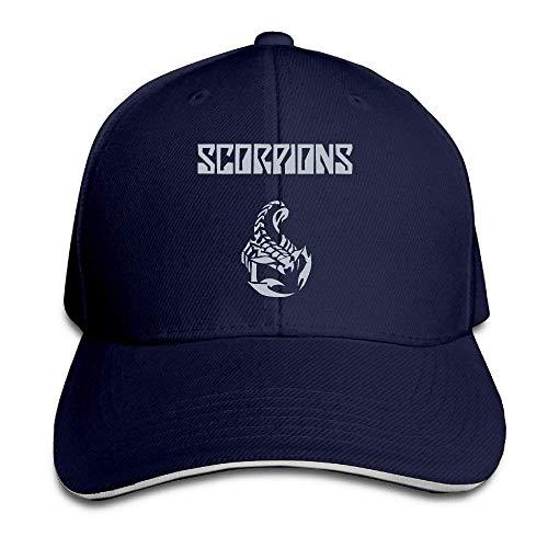 hgfjghf Scorpions Band World Wide Live Matthias Jabs Baseball Cap Match Sandwich Cap Hats