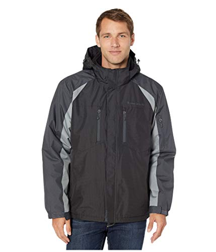 Free Country Multi Ripstop Mid Weight Jacket Jet Black LG