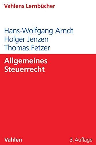 Allgemeines Steuerrecht (Lernbücher für Wirtschaft und Recht)