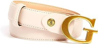 Guess Belt stephi H30 buckle logo BW7539VIN30 light rum