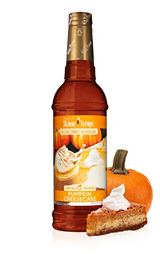 Jordan's Skinny Syrups SugarFree Pumpkin Cheesecake 25.4 Ounce