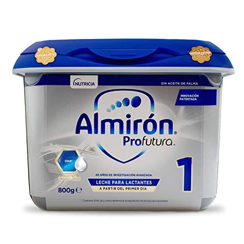 Almirón Profutura 1 Leche de Inicio en Polvo para Bebé, a partir del Primer Día, 800g