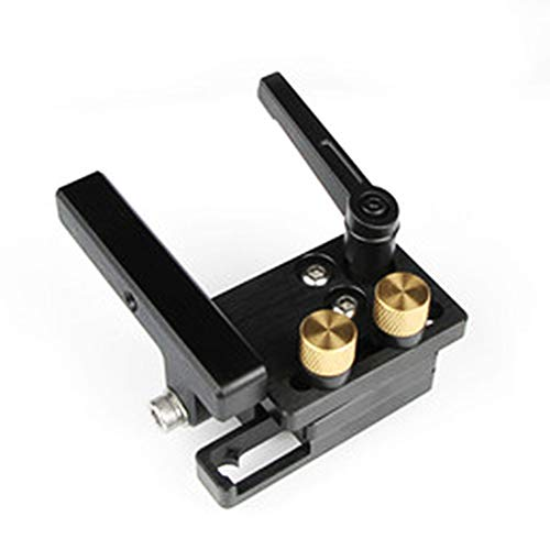 Doolland Mitre Flip Track Stop DIY Holzbearbeitungswerkzeuge mit einstellbarer Skala für T-Track T-Slot-Rechts