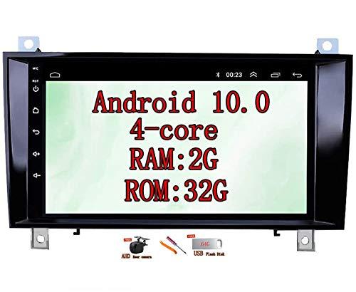 XISEDO Android 10.0 Autoradio In-dash Car Radio 8 Pollici Car Stereo 4-Core RAM 2G ROM 32G Navigatore GPS per Mercedes-Benz SLK R171 W171 SLK200 SLK280 SLK350 SLK55 SLK200K 2003-2010