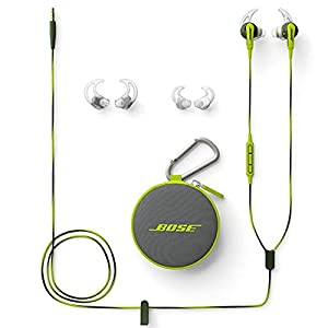 Bose SoundSport in-Ear Headphones for Apple Devices - Wired (Energy Green)