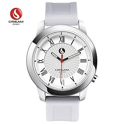 DREAM SPORT Fashion Smart Watch?Analog Smartwatch Bluetooth & 3 ATM Waterproof - Hybrid Smartwatches Calories Step Counter Sleep Monitor Activity Tracker
