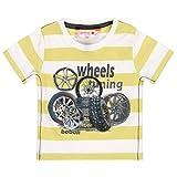 boboli 329026 - Maglietta a maniche corte, lavorata a maglia, per bambino giallo 3 anni