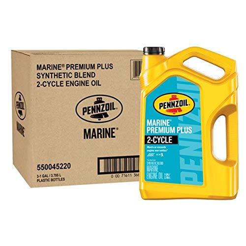 Pennzoil 550045220-3PK 1 gallon Marine Premium...