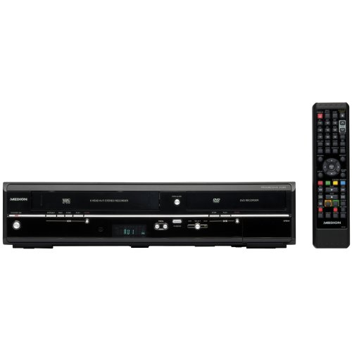 MEDION MD 83425 4in1 DVD/VHS Recorder (HDMI, Timeshift, Upscaling auf 1080p)