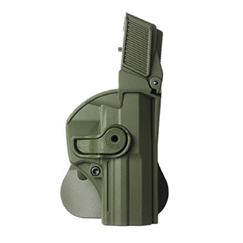 IMI Defense Level 3 Retention Holster P8, Oliv, Rechts