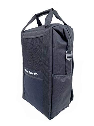 Polar Bear Coolers Original Backpack Soft Cooler Black