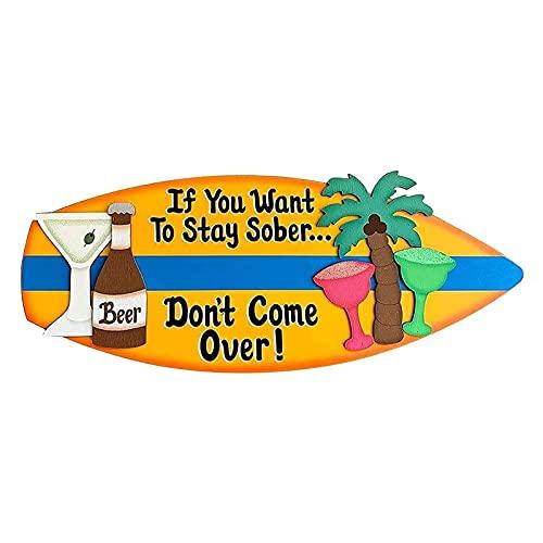 BROILLIANNT Decoraciones artísticas de Tabla de Surf de Mad