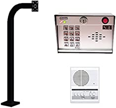 Outdoor Intercom and Keypad Set with Indoor Station and a 42