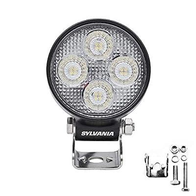 SYLVANIA - LED 3 Inch Round LED Light Pod - Lifetime Limited Warranty - Spot Light 3200 Raw Lumens, Off Road Driving Work Light, Truck, Car, Boat, ATV, UTV, SUV, 4x4 (1 PC)