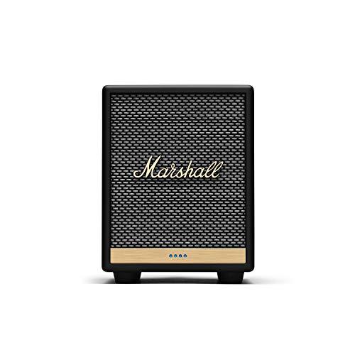 Marshall Uxbridge Home Voice Speaker with Amazon Alexa Built-In, Black