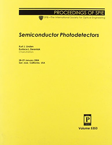 Semiconductor Photodetectors PDF Books