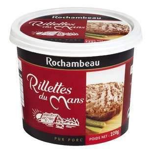ROCHAMBEAU RILLETTES von LE Mans (Potted Pork), 220 g
