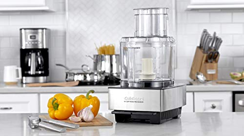 Cuisinart DFP-14BCNY 14-Cup Food Processor, Brushed Stainless Steel - Silver