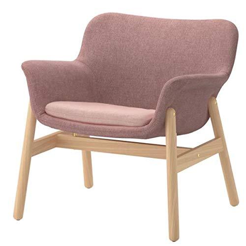 VEDBO IKEA Sessel mit Bezug Gunnared hell braunrosa