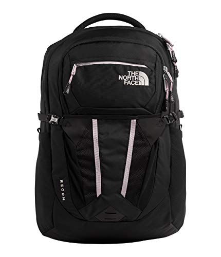 The North Face Women's Recon Backpack, TNF Black/Ashen Purple, One Size