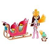 Enchantimals SNOWTASTIC SLED con MUÑECAS Felicity Fox Y Flick (Mattel GJX31)