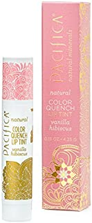 Pacifica Color Quench Lip Tint Vanilla Hibiscus, 0.15oz.