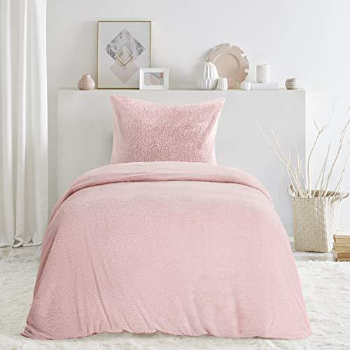 Berber Duvet Cover Set Thick Warm Fabric Design - Ultra Soft Hypoallergenic 105% Short Plush Velvet Quilt Cover Sets
