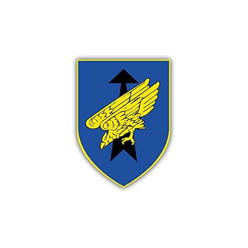 Copytec Aufkleber/Sticker - Luftlandebrigade 31 DSO Oldenburg Kompanie Einheit Bundeswehr BW Wappen 7x5cm #A981