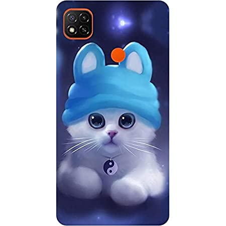 Amagav Printed Soft Silicone Designer Pouch Mobile Back Cover for Redmi 9 & Xiaomi Redmi 9C Case and Covers | for Boys & Girls - Design160