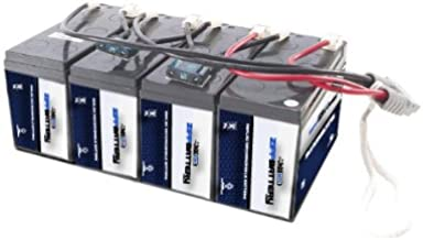 RBC25 UPS Complete Replacement Battery Kit for SU1400RMXLB3U