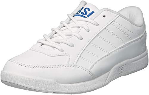 BSI Boy's Basic #532 Bowling Shoes, White, Size 5.0