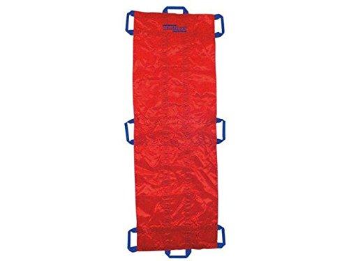 Rettungstuch - rot, mit Fußsack -