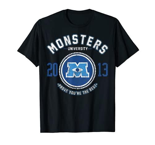 Disney Monsters University Logo Graphic T-Shirt