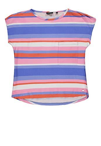 Marc O' Polo Kids Mädchen Blusenshirt 1/4 Arm Bluse, Mehrfarbig (Y/D Stripe|Multicolored 0001), 134 (Herstellergröße: 134/140)