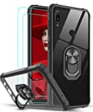 LeYi for Huawei Y6 2019/Honor 8A Case and 2 Tempered