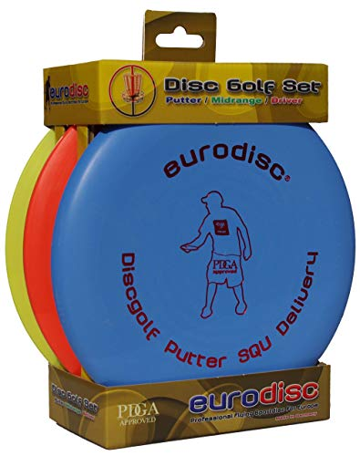 Eurodisc Disc Golf Set / Starter Kit SQU...