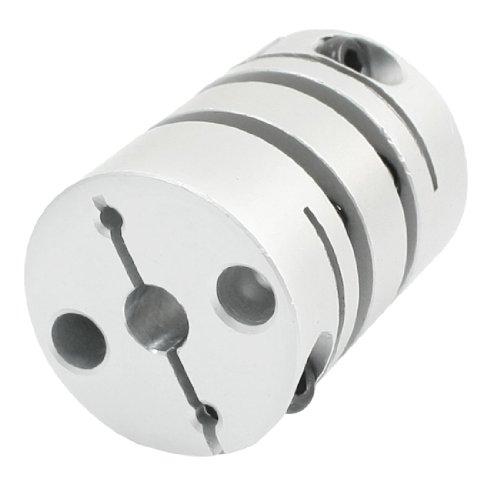 sourcingmap 6mm to 6mm CNC Motor Jaw Schacht Doppel- Diaphrag Kupplung Koppler Joint