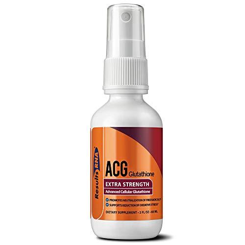 Results RNA ACG Glutathione Extra Strength (Advanced Cellular Glutathione) (60ml)