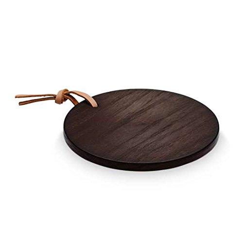 sompex - Leve LYS, Platte für Teelichter Ø13cm -Eiche dunkel, magnetisch (34901)