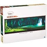 950ピース ジグソーパズル スタジオジブリ背景美術シリーズ もののけ姫 シシ神の森 (34x102cm)