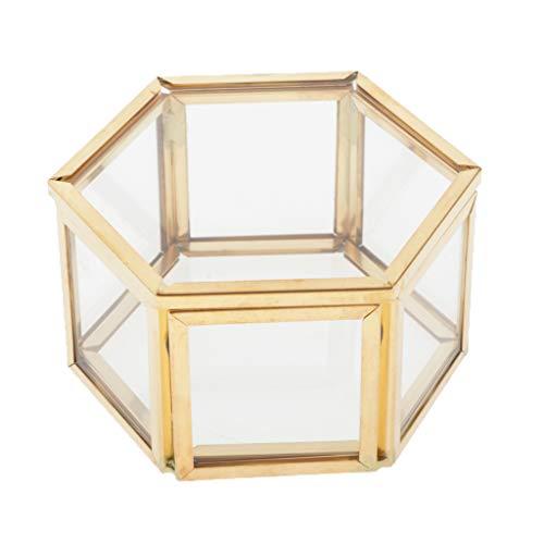 Milageto Cajas de Almacenamiento Transparentes para Joyas de Maquillaje con Tapa para Perfumes Relojes de Pulsera