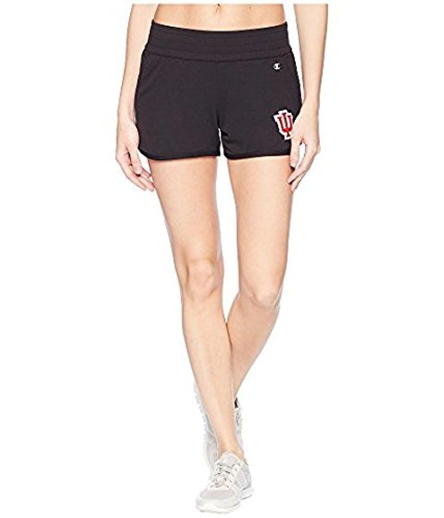 休憩する三番かみそりチャンピオンカレッジ Champion College レディース ショーツ ハーフパンツ Black Indiana Hoosiers Endurance Shorts [並行輸入品]