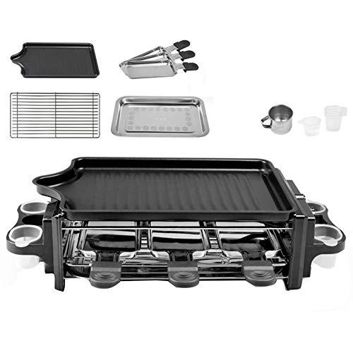 Parrillas De Raclette 5 Persona 3 Mini Sartenes para Cocinar Queso |...